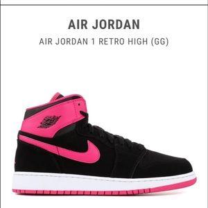 "Air Jordan 1 Retro High GG ""Vivid Pink"""